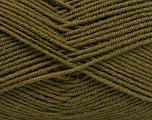 Fiber Content 70% Acrylic, 30% Wool, Brand ICE, Dark Khaki, Yarn Thickness 4 Medium  Worsted, Afghan, Aran, fnt2-53717