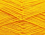 Fiber Content 70% Acrylic, 30% Wool, Yellow, Brand ICE, Yarn Thickness 4 Medium  Worsted, Afghan, Aran, fnt2-53718