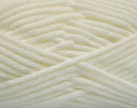 Fiber Content 80% Acrylic, 20% Polyamide, White, Brand Ice Yarns, Yarn Thickness 5 Bulky  Chunky, Craft, Rug, fnt2-53762