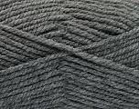 Fiber Content 100% Acrylic, Brand ICE, Dark Grey, Yarn Thickness 5 Bulky  Chunky, Craft, Rug, fnt2-53764