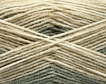 Fiber Content 70% Acrylic, 30% Wool, Khaki, Brand Ice Yarns, Beige Shades, Yarn Thickness 2 Fine  Sport, Baby, fnt2-53766