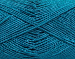 Fiber Content 100% Mercerised Cotton, Turquoise, Brand Ice Yarns, Yarn Thickness 2 Fine  Sport, Baby, fnt2-53787