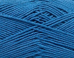 Fiber Content 100% Mercerised Cotton, Brand Ice Yarns, Blue, Yarn Thickness 2 Fine  Sport, Baby, fnt2-53793
