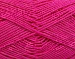 Fiber Content 100% Mercerised Cotton, Brand ICE, Fuchsia, Yarn Thickness 2 Fine  Sport, Baby, fnt2-53805