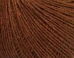 Fasergehalt 50% Merinowolle, 25% Acryl, 25% Alpaka, Brand Ice Yarns, Brown, fnt2-53813