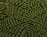 Fiber Content 60% Merino Wool, 40% Acrylic, Brand Ice Yarns, Dark Khaki, Yarn Thickness 2 Fine  Sport, Baby, fnt2-53826