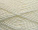 Worsted  Fiber Content 100% Acrylic, White, Brand Ice Yarns, Yarn Thickness 4 Medium  Worsted, Afghan, Aran, fnt2-53827