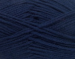 Worsted  Fiber Content 100% Acrylic, Navy, Brand Ice Yarns, Yarn Thickness 4 Medium  Worsted, Afghan, Aran, fnt2-53828