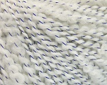 Fiber Content 90% Acrylic, 10% Polyamide, White, Lavender, Brand Ice Yarns, fnt2-53937
