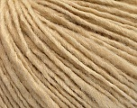Fiber Content 55% Acrylic, 45% Wool, Brand ICE, Dark Cream, Yarn Thickness 4 Medium  Worsted, Afghan, Aran, fnt2-53944