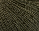 Fasergehalt 50% Wolle, 50% Acryl, Brand Ice Yarns, Dark Khaki, fnt2-53947