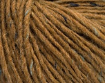Fiber Content 50% Wool, 50% Acrylic, Light Brown, Brand Ice Yarns, Blue Shades, fnt2-53951