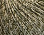 Fiber Content 50% Wool, 50% Acrylic, Light Khaki, Brand ICE, Grey, Beige, Yarn Thickness 4 Medium  Worsted, Afghan, Aran, fnt2-53956