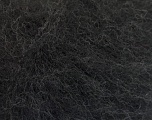 Knitted as 4 ply Fasergehalt 40% Polyamid, 30% Kid Mohair, 30% Acryl, Brand Ice Yarns, Black, Yarn Thickness 1 SuperFine  Sock, Fingering, Baby, fnt2-53974