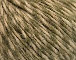 Fasergehalt 50% Acryl, 50% Wolle, Khaki, Brand Ice Yarns, Cream, Yarn Thickness 4 Medium  Worsted, Afghan, Aran, fnt2-53978