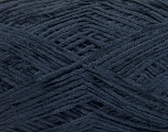 Conţinut de fibre 100% Poliester, Navy, Brand Ice Yarns, Yarn Thickness 1 SuperFine  Sock, Fingering, Baby, fnt2-54002