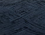 Fiber Content 100% Polyester, Navy, Brand Ice Yarns, Yarn Thickness 1 SuperFine  Sock, Fingering, Baby, fnt2-54002