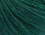 Fiber Content 50% Acrylic, 50% Wool, Brand Ice Yarns, Emerald Green, Yarn Thickness 5 Bulky  Chunky, Craft, Rug, fnt2-54035