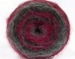 Fiber Content 100% Acrylic, Brand Ice Yarns, Grey Shades, Fuchsia, fnt2-54050