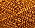 Ne: 8/4. Nm 14/4 Fiber Content 100% Mercerised Cotton, Brand Ice Yarns, Gold, Caramel, Yarn Thickness 2 Fine  Sport, Baby, fnt2-54053