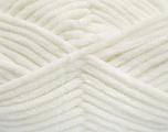Composição 100% Microfibra, White, Brand Ice Yarns, fnt2-54138