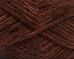 Fiberinnhold 100% Mikro-Fiber, Brand Ice Yarns, Dark Brown, fnt2-54143