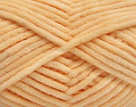 Fiber Content 100% Micro Fiber, Light Orange, Brand Ice Yarns, Yarn Thickness 4 Medium  Worsted, Afghan, Aran, fnt2-54146