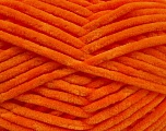Fiberinnhold 100% Mikro-Fiber, Orange, Brand Ice Yarns, fnt2-54148