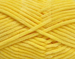 Fiber Content 100% Micro Fiber, Light Yellow, Brand Ice Yarns, Yarn Thickness 4 Medium  Worsted, Afghan, Aran, fnt2-54150