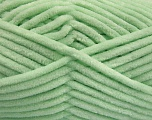 Fiber Content 100% Micro Fiber, Mint Green, Brand ICE, Yarn Thickness 4 Medium  Worsted, Afghan, Aran, fnt2-54151