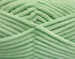 Fiber Content 100% Micro Fiber, Mint Green, Brand Ice Yarns, Yarn Thickness 4 Medium  Worsted, Afghan, Aran, fnt2-54151