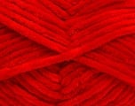 Fiber Content 100% Micro Fiber, Red, Brand Ice Yarns, Yarn Thickness 4 Medium  Worsted, Afghan, Aran, fnt2-54167