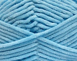 Fiber Content 100% Micro Fiber, Brand Ice Yarns, Baby Blue, Yarn Thickness 4 Medium  Worsted, Afghan, Aran, fnt2-54169