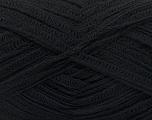 Fiber Content 40% Cotton, 35% Acrylic, 25% Polyamide, Brand Ice Yarns, Black, fnt2-54171