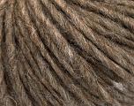 Fiber Content 50% Merino Wool, 25% Alpaca, 25% Acrylic, Brand ICE, Camel Melange, Yarn Thickness 5 Bulky  Chunky, Craft, Rug, fnt2-54227