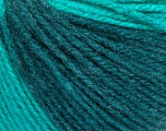 Fiber Content 100% Acrylic, Turquoise, Brand Ice Yarns, Green Shades, fnt2-54271