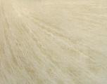 Fasergehalt 27% Wolle, 27% Mohair, 26% Polyamid, 20% Acryl, White, Brand Ice Yarns, fnt2-54298
