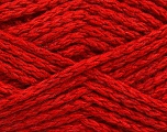 Fiber Content 60% Acrylic, 40% Wool, Red, Brand Ice Yarns, fnt2-54313