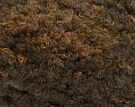 Fasergehalt 59% Acryl, 27% Wolle, 14% Polyamid, Brand Ice Yarns, Dark Brown Shades, fnt2-54338