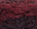Fiber Content 59% Acrylic, 27% Wool, 14% Polyamide, Maroon, Brand ICE, Burgundy, Yarn Thickness 6 SuperBulky  Bulky, Roving, fnt2-54341
