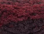 Fasergehalt 59% Acryl, 27% Wolle, 14% Polyamid, Maroon, Brand Ice Yarns, Burgundy, fnt2-54341