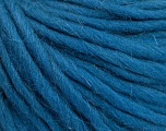 Fiber Content 100% Wool, Teal, Brand ICE, Yarn Thickness 5 Bulky  Chunky, Craft, Rug, fnt2-54360