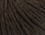 Fiberinnhold 55% Akryl, 45% Ull, Brand Ice Yarns, Dark Brown, fnt2-54376