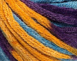 Fiber Content 50% Acrylic, 50% Wool, Purple, Brand Ice Yarns, Gold, Blue, fnt2-54385