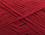 Fiber Content 50% Acrylic, 50% Polyamide, Brand ICE, Burgundy, Yarn Thickness 3 Light  DK, Light, Worsted, fnt2-54403