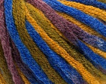 Fiber Content 50% Wool, 50% Acrylic, Maroon, Brand Ice Yarns, Green, Gold, Blue, fnt2-54411