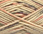 Fiber Content 80% Acrylic, 20% Polyamide, Lilac, Light Salmon, Brand Ice Yarns, Grey, Cream, fnt2-54415