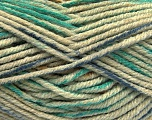 Fiber Content 80% Acrylic, 20% Polyamide, Khaki, Brand Ice Yarns, Green, Blue, Yarn Thickness 5 Bulky  Chunky, Craft, Rug, fnt2-54416