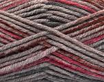 Fiberinnehåll 80% Akryl, 20% Polyamid, Pink, Brand Ice Yarns, Grey, Brown, fnt2-54418