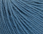 Fiber Content 100% Wool, Jeans Blue, Brand Ice Yarns, Yarn Thickness 4 Medium  Worsted, Afghan, Aran, fnt2-54429
